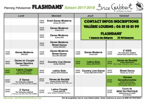 Planning FlashDans 2016-2017 JPEG